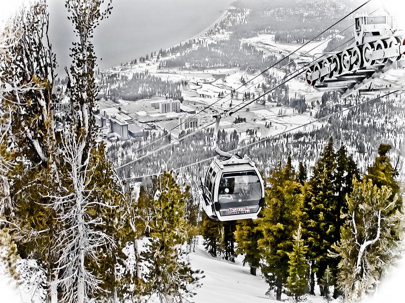 Gondola at Heavenly Ski Resort, Lake Tahoe, CA
