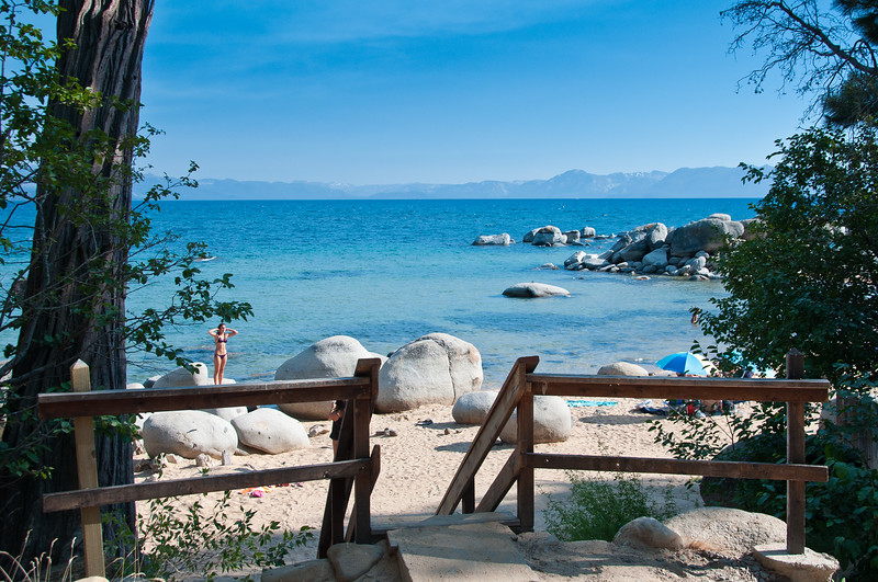 Speedboat Beach, Lake Tahoe, CA