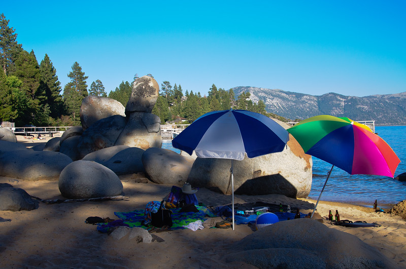 Speedboat Beach, Lake Tahoe, NV