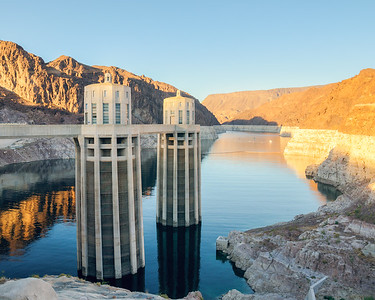 Hoover Dam Intakes