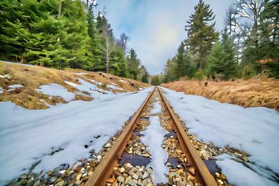 Ridin thr rails...