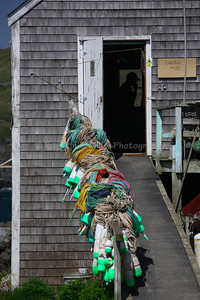 Monhegan Island, Maine, Lobster Trap Floats