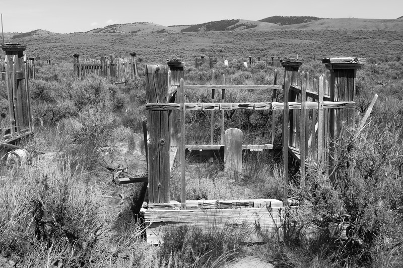 Cemetery, Bannack, MT