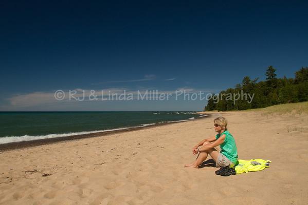 12 Mile Beach, Lake Superior, Alger County, Upper Peninsula, Michigan