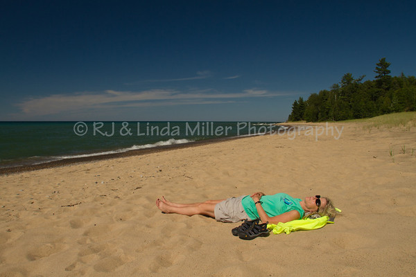12 Mile Beach, Lake Superior, Alger County, Upper Peninsula, Michigan
