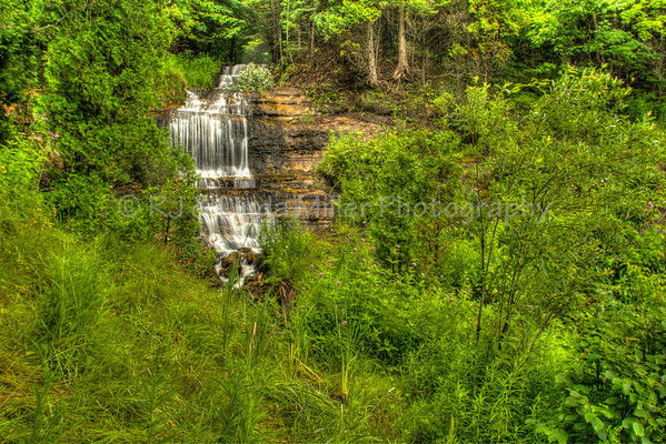 Alger Falls, Alger County, Upper Peninsula, Michigan