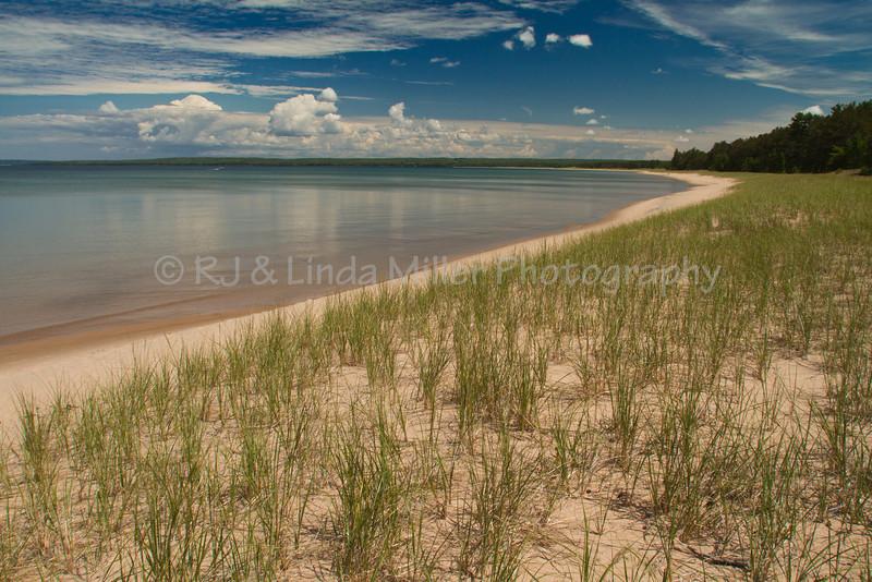 Au Train Beach, Lake Superior, Alger County, Upper Peninsula, Michigan