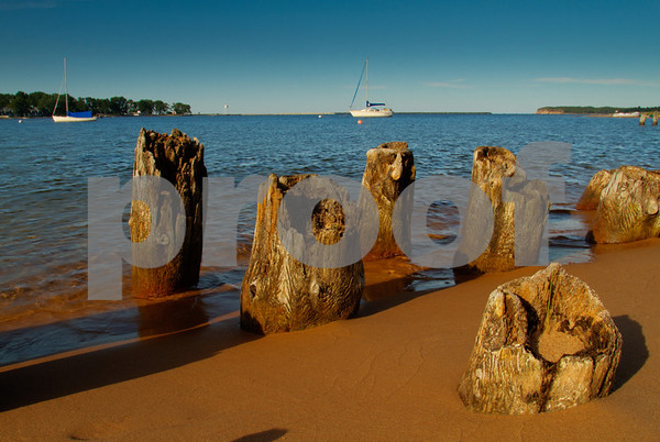 Grand Marais Bay, Alger County, Upper Peninsula, Michigan
