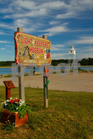 Light Keepers Museum, Grand Marais, Alger County, Upper Peninsula, Michigan