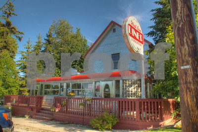 West Bay Diner, Grand Marais, Alger County, Upper Peninsula, Michigan