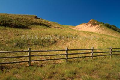 Log Slide, Grand Sable Dunes, Alger County, Upper Peninsula, Michigan