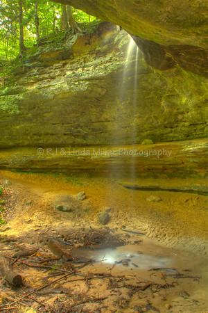 Memorial Falls, Alger County, Upper Peninsula, Michigan