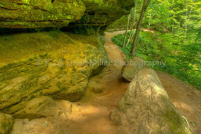 Memorial Falls, Alger County, Upper Peninsula, Michigan