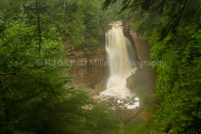 Miners Falls, Alger County, Upper Peninsula, Michigan