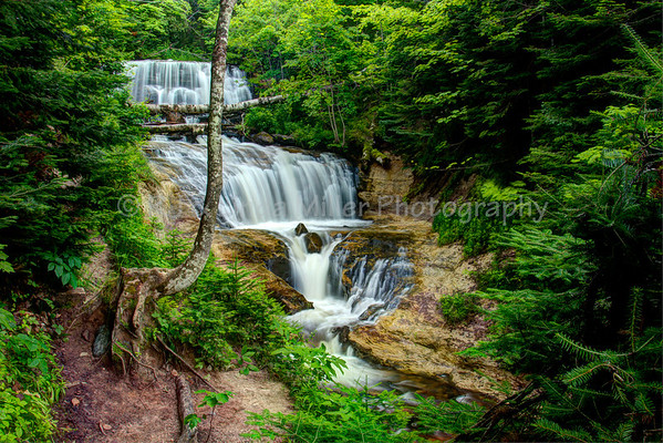 Sable Falls, Alger County, Upper Peninsula, Michigan