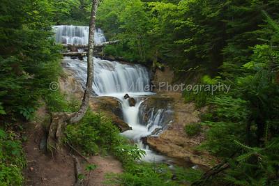 Sable Falls, Alger County, Upper Peninsula, Michigan