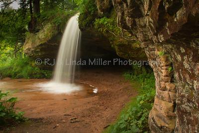 Scott Falls, Alger County, Upper Peninsula, Michigan