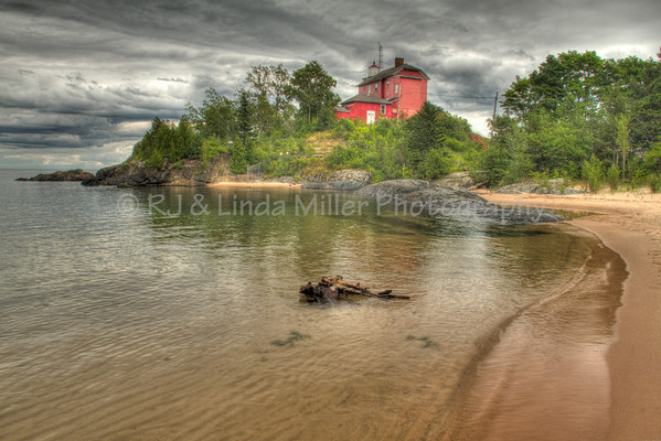 Marquette Harbor Lighthouse, Marquette County, Upper Peninsula, Michigan