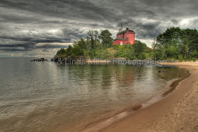 Marquette Harbor Lighthouse, Marquette County, Upper Peninsula, Michigan