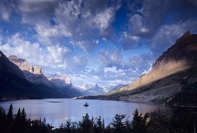 St. Mary's Lake, Glacier National Park, Montana, US