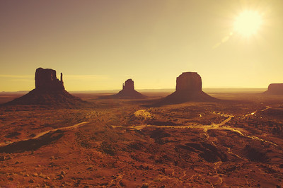 Alien Monument Valley