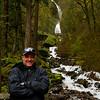 Shaun at the Wahkeena Falls - Columbia River Gorge, Oregon
