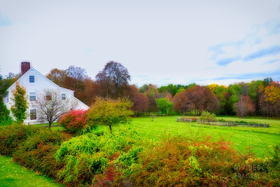 Vermont Farmhouse in Fall