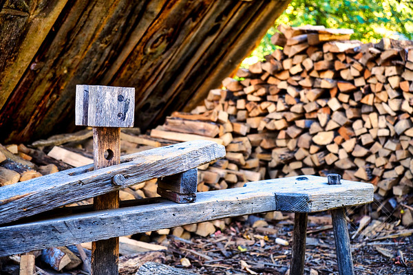 Woodcutter's Bench