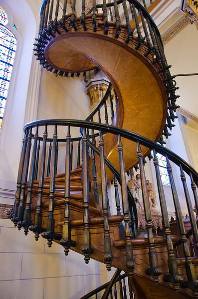 Miracle Staircase, Loretto Chapel, Santa Fe, NM