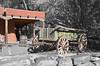 Wagon in Galisteo, NM