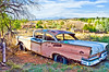 '57 Ford Fairlane abandoned in Galisteo, NM