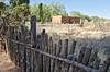 Fence & Adobe House in Galisteo, NM