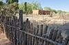 Fence & Adobe House in Galisteo, NM