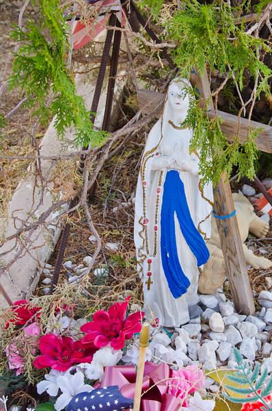 Cemetery, Cerillos, NM