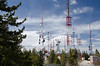 Towers at top of Sandia Crest, NM