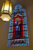 Stained Glass in Loretto Chapel