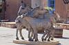 Burros Statue, Santa Fe, New Mexico