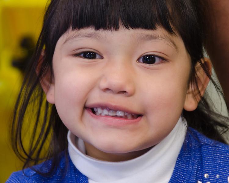 Little Girl in Dad's Soda Shop
