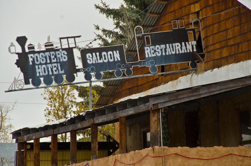 Foster's Hotel, Saloon, Restaurant. Chama, NM