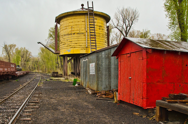 Water Tank and Tool Storage Buildings, Toltec Train Yard