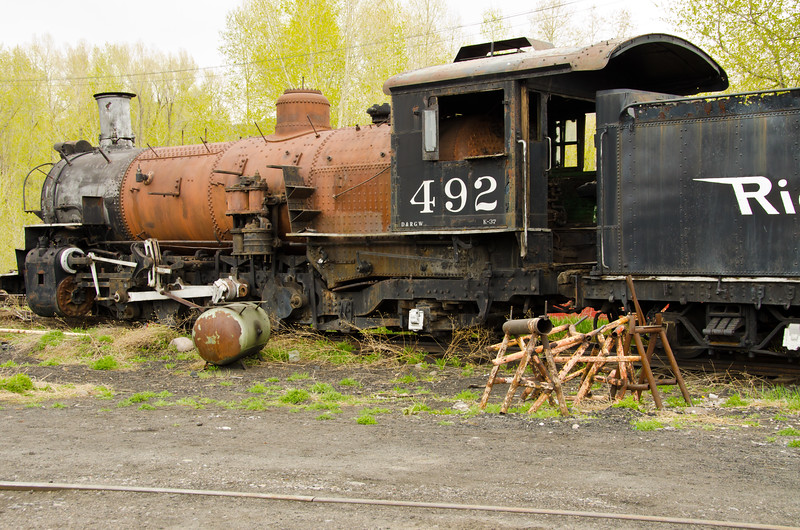 Train #492, Steam Locomotive