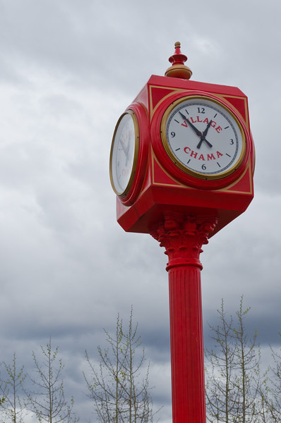 Clock Tower in Chama, NM