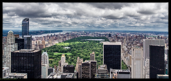 Central park, from the top of the Rock