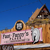 Fast Fanny place, Oatman Arizona