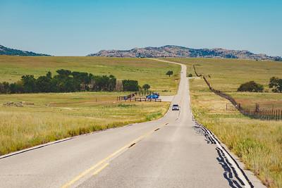 Wichita Mountains Prairie Dog Crossing