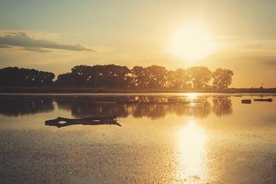 Salt Plains Sunset