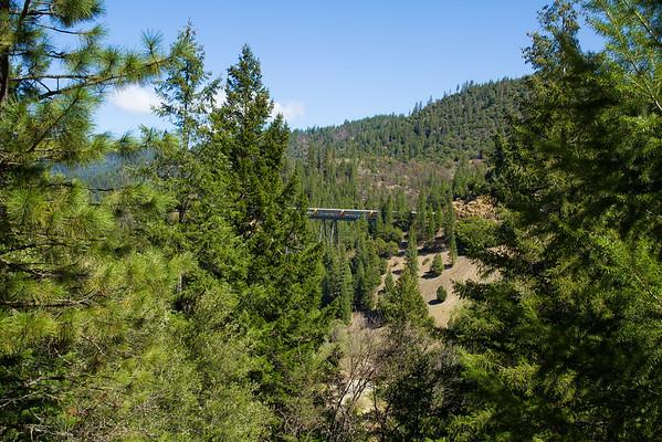 Lovely scenery on Hwy 89 California