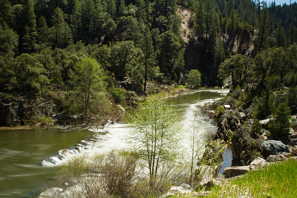 Amazing river at Indian Falls on Hwy 89