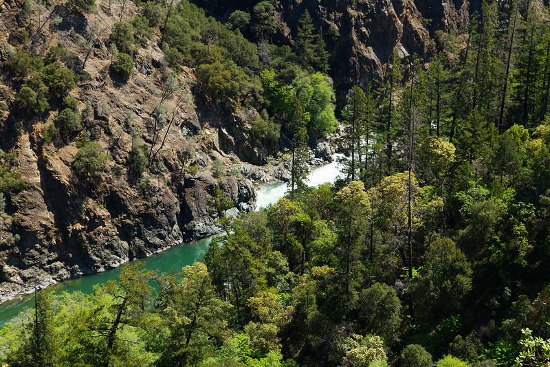 River gorge, North California