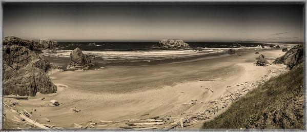 Bandon beach, Or, Oregon